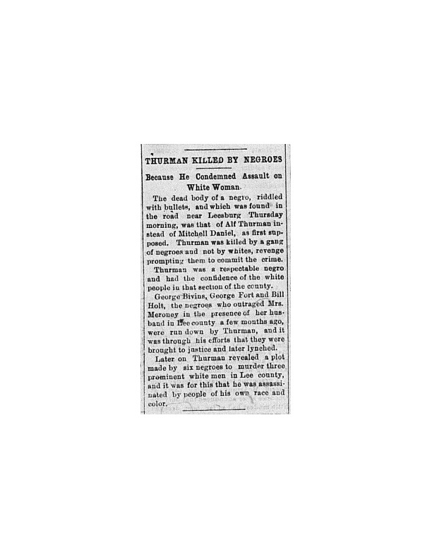 Americus Weekly-The Murder of Alf Thurman .pdf