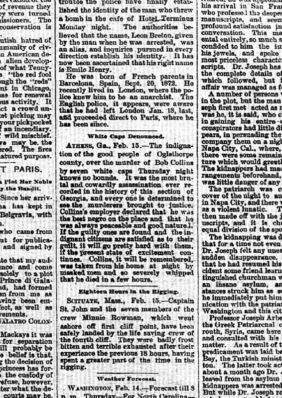 Waycross weekly herald. (Waycross, Ga.) 1893-1900, February 17, 1894, Bob Collins.jpg