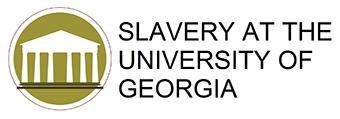 slavery at UGA logo