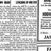 The Daily times-enterprise. (Thomasville, Ga.) 1889-1925, September 23, 1919, Obe Cox.jpg